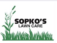 Sopko's Lawn Care now accepting new clients