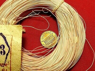 Mgtf Wire 0.03mm2 32awg High Purity Occ Copper Teflon Ptfe Ussr Mil 100m 320ft