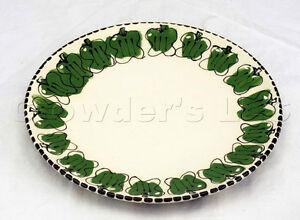 Robin Sterling Pottery 11 Inch Ceramic Dinner Plate Pepper