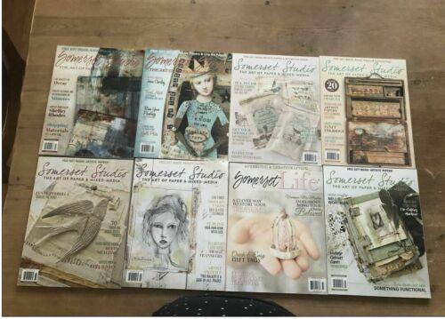 somerset magazine (lot of 8)