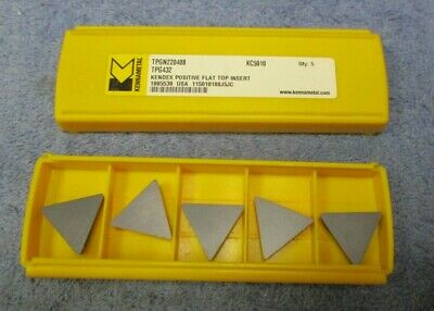 Kennametal  Carbide Inserts Tpg 432 Pack Of 5  Grade Kc5010