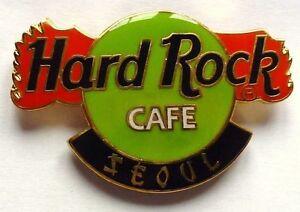 Hard-Rock-Cafe-Prendedor-pin-DRAGON-Garra-LOGO-Seoul