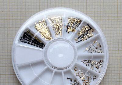 ZEIGER-DEPOT - 100 Uhrzeiger - Zeiger für Armbanduhren  / Nr. ZD-2