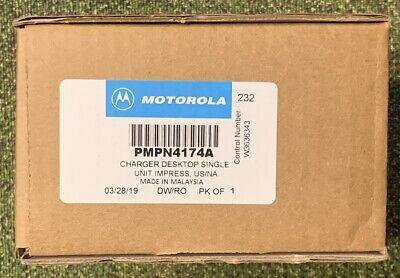 Motorola Pmpn4174a Impres Single-unit Charger Brand New.