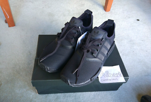 Adidas NMD R1 Monochrome Triple Black US9.5 Melbourne CBD Melbourne City Preview