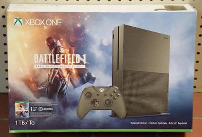 NEW - Xbox One Battlefield 1 Early Enlister Deluxe Edition 1TB Bundle Console