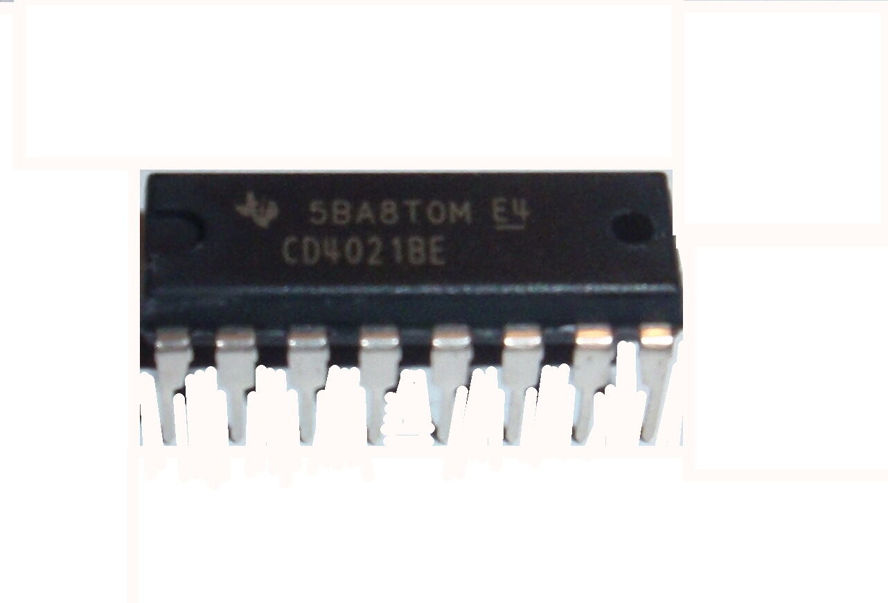 Cd4021be Cd4021 Cd4021b Ti Cmos 8 Stage Static Shift Register Dip16 Pcf8573p I2c Real Time Clock Schematich Us Seller