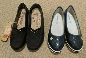 NEW UNWORN Girl shoes, size 37, black $30 & navy blue $50 Rochedale Brisbane South East Preview