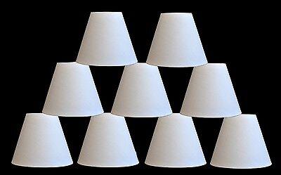Urbanest Linen Chandelier Mini Lamp Shades Hardback 3x6x5