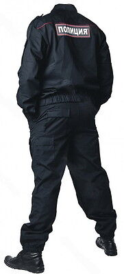 Genuine MANY SIZES Russian Police Spetsnaz PPS Officer Uniform Suit Rare