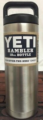 Yeti Coolers Rambler Bottle YRAMB18 Stainless Steel Size 18oz NEW!! IN STOCK!