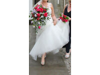 Art Couture wedding dress size 16 professionally dry cleaned