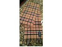 TIE RACK PURE WOOL ON TREND TARTAN CHECK NECK SCARF UNISEX IMMACULATE CONDITION WORN O