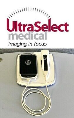 Ge Vscan 1.2 Portable Handheld Ultrasound W Phased Array Probe