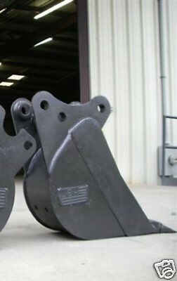 12 Pin On Bucket Built To Fit Kubota Kx-121-2-3 Excavator Guaranteed Fit