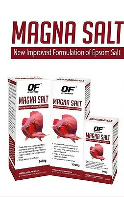 600 GM OCEAN FREE MAGNA SALT for AROWANA