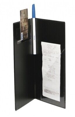 New - Server Guest Check Presenter With Credit Card Slot