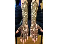 Henna artist and makeup artist