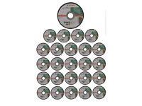 "25 Pack BOSCH STONE 115mm 4-1/2"" Masonry Cutting Grinder Discs Blades,2608603177"