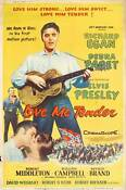 Elvis Love Me Tender Poster