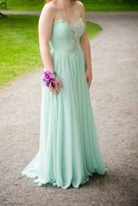 Size 4 Prom dress worn once/ hidden sequin layer