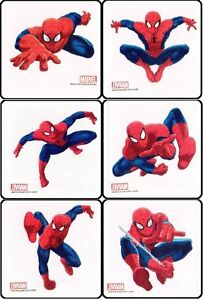 12 x SPIDERMAN Party Pack childrens Temporary Tattoos New Styles