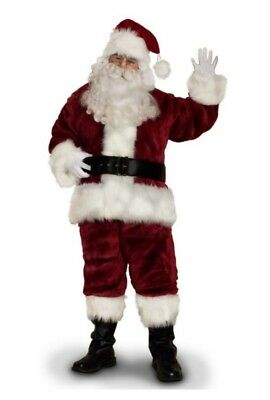 Top Of The Line Supreme Santa Claus Suit Set Sunnywood Rental Quality - Santa Costume Rentals