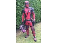 Movie replica DEADPOOL MOVIE suit!! One of a kind