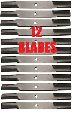 12 Usa Bushhog 82325 Blades Repl Set For 6 Bushhog Groomingfinishing Mowers