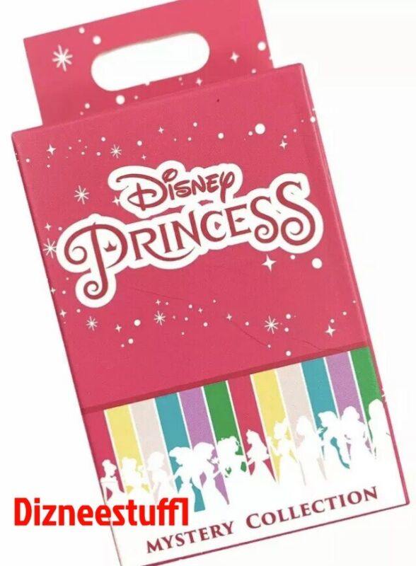 Disney Parks Princess Mystery Collection Blind 2 Pin Box Sealed 2021 - NEW