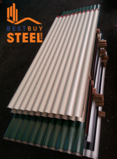 BLUESCOPE WALL SHEETING FROM AS LOW AS $8.80 PER METRE Hammond Park Cockburn Area Preview