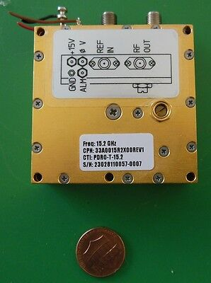 Herley Cti Phase Locked Pdro Precision Oscillator 15200 Mhz 15.2 Ghz Tested