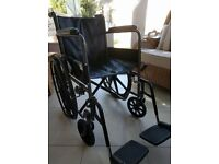 Wheelchair deluxe travel model