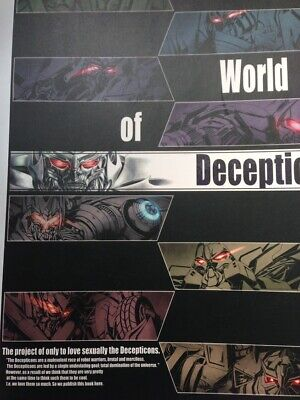 Transformers yaoi Doujinshi anthology (A5 132pages) Wod World of Deception