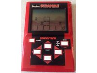 Vintage Retro Grandstand Pocket Scramble - Fully working Super Rare. BATTERY COVER MISSING