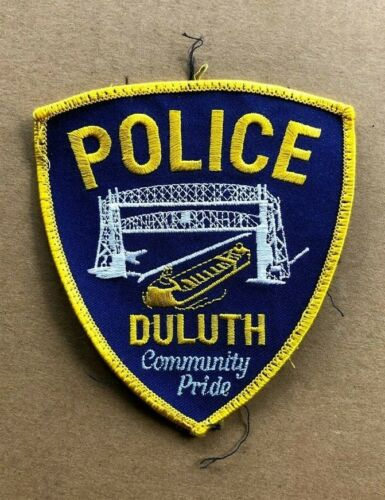 Duluth Minnesota Police Patch