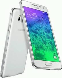 Samsung galaxy alpha 32g white