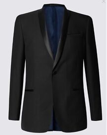 Dinner jacket + Trousers M&S Slim Fit
