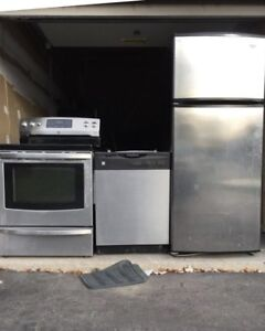Can deliver Excellent working Fridge/Stove SET