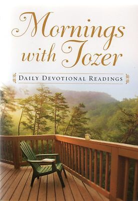Mornings With Tozer, A. W. Tozer, 366 Daily Devotional Readings, Paperback, New for sale  Torquay