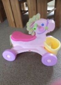 Fisher Price musical pony