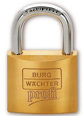 4 x Burg Wächter Zylinder - Vorhangschloss Profi 116 25 -verschiedenschliessend