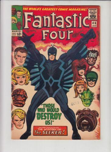 FANTASTIC FOUR #46 FN 1st BLACK BOLT!!