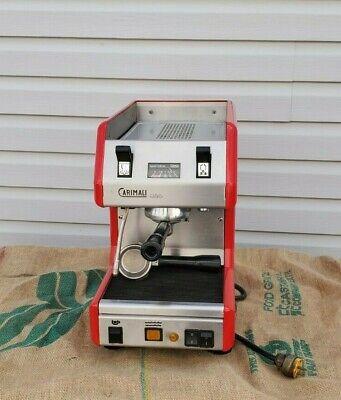 Carimali Uno 1 Group Espresso Cappuccino Latte Machine 110 Volts