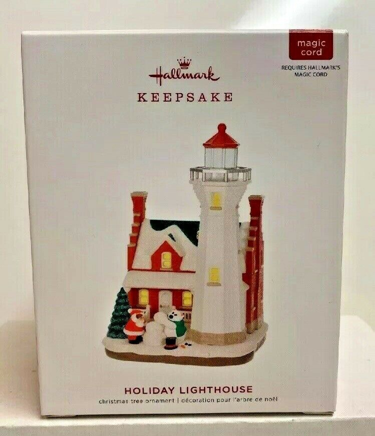 2018 Holiday Lighthouse 7th in Series Hallmark Keepsake
