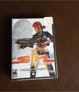 Vintage shooter PC games NEW SEALED