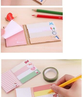 Memo Pads Self Adhesive Post Its Hello Kitty O-1
