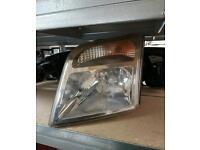 Ford transit connect van passenger/ near side/ headlight