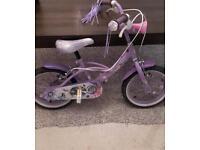 """Girls bike 14""""wheels"""