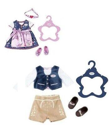 Orig. Baby Born >>> Trachten Outfits für Jungen und Mädchen <<< 43 cm